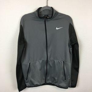 Nike Full Zip Zip Pockets Dri-Fit Jacket Size M